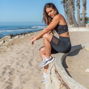 {Fabletics) NWT Mila Biker Shorts
